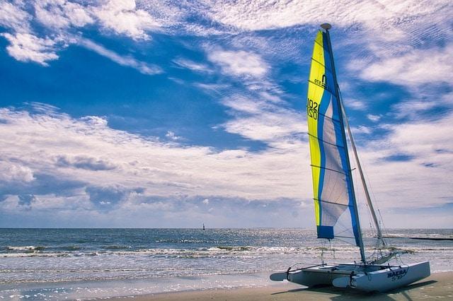 Isla de Saona en una catamarán